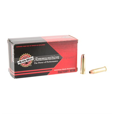 357 Magnum 158gr Jacketed Hollow Point Ammo by Black Hills Ammunition