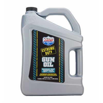 Extreme Duty Gun Oil-Gallon by Lucas Oil Products