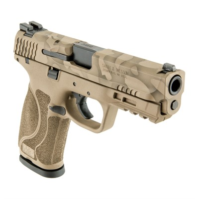 Click here to buy Camoflage S & w/ M & P M2.0 Handgun 9mm 17+1 by Smith & Wesson.