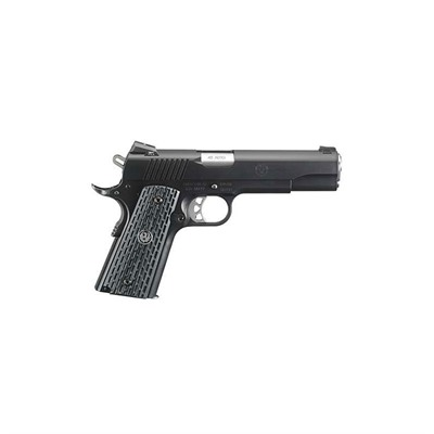 Click here to buy Sr1911 Night Watchman 5in 45 Acp Stainless w/Nitride Finish 8+1rd by Ruger.