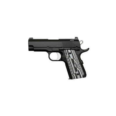 Dan Wesson Eco 3.5in 45 Acp Matte Black 7+1rd by Dan Wesson