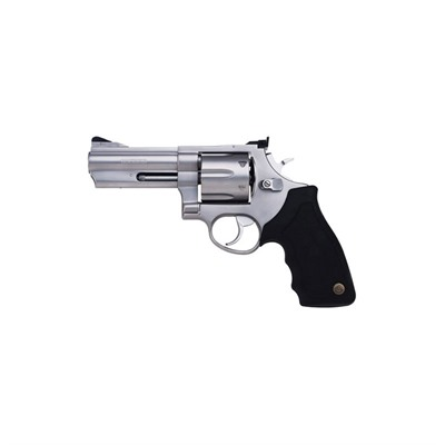 Click here to buy Model 44 4in 44 Magnum Stainless 6rd by Taurus.