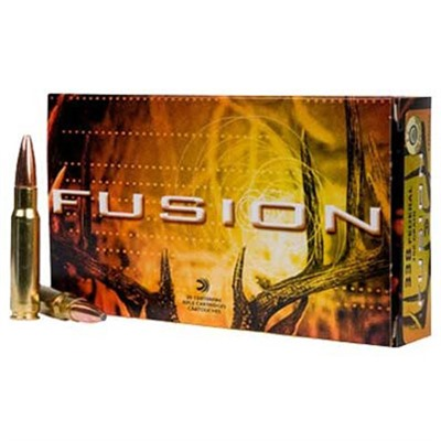 Fusion Ammo 300 Win Mag 165gr Bonded Bt by Federal