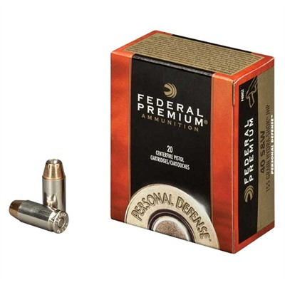 Personal Defense Ammo 10mm Auto 180gr Hydra-Shok by Federal