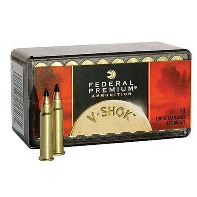 V-Shok Ammo 17 Hmr 17gr Jacketed Hollow Point by Federal