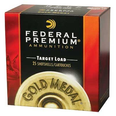 Gold Medal Paper Ammo 12 Gauge 2-3/4 & Quot; 1-1/8 Oz 7.5 Shot by Federal