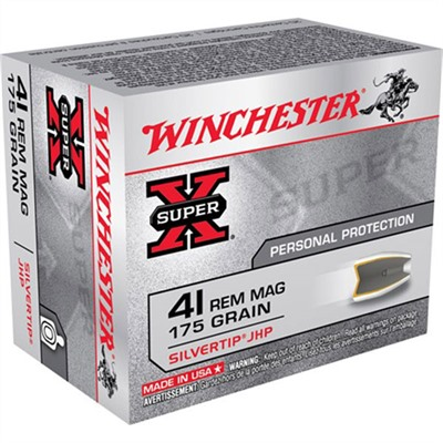 Silvertip Ammo 41 Remington Magnum 175gr Hp by Winchester