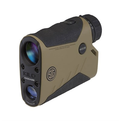 Click here to buy Kilo 2400abs Applied Ballistic System Laser Rangefinder by Sig Sauer.