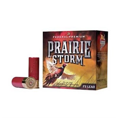 Prairie Storm Ammo 12 Gauge 3 & Quot; 1-1/4 Oz 6 Shot by Federal