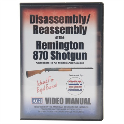 Remington 870-Assembly and Disassembly Dvd by Agi