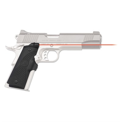 Click here to buy 1911 Full-Size G10 Master Series Lasergrips by Crimson Trace Corporation.