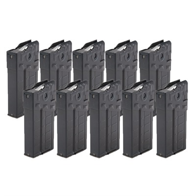 Hk91/G3 308/7.62 Aluminum Magazine 20 Rd 10-Pk by Brownells