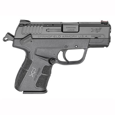 Springfield Xde 3 & Quot; Bbl 9mm 8rd by Springfield Armory