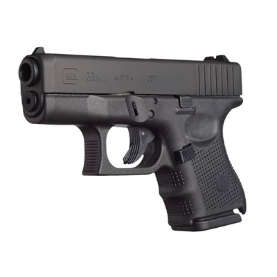 Click here to buy G33 G4 3.43in 357 Sig Gas Nitride 9+1rd by Glock.