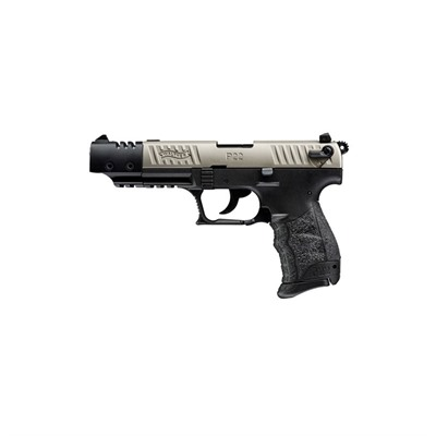 P22 Target Ca 5in 22 Lr Nickel 10+1rd by Walther Arms Inc