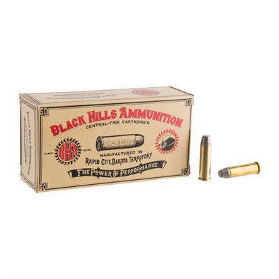 Cowboy Action Ammo 38 Special 158gr Lead Conical Nose by Black Hills Ammunition