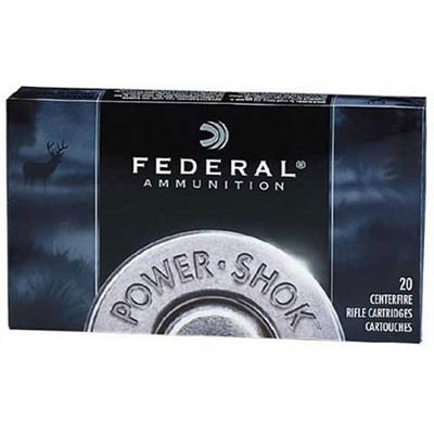 Power-Shok Ammo 30-06 Springfield 180gr Sp by Federal