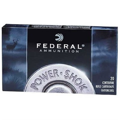 Power-Shok Ammo 30-06 Springfield 220gr Sp by Federal