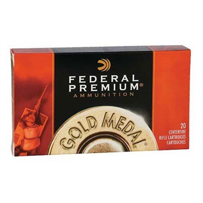 Gold Medal Match Ammo 30-06 Springfield 168gr Hpbt by Federal