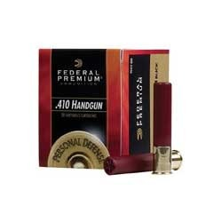 Premium Personal Defense Ammo 410 Bore 2-1/2 & Quot; 000 Shot by Federal