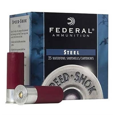 Speed-Shok Ammo 12 Gauge 3 & Quot; 1-1/8 Oz 3 Shot by Federal