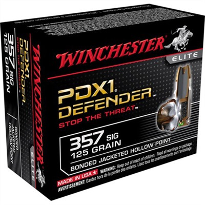 Pdx1 Defender Ammo 357 Sig 125gr Hp by Winchester