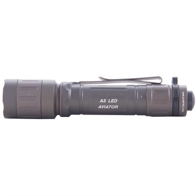 Click here to buy A2 Aviator Dual-Spectrum LED Flashlight by Surefire.