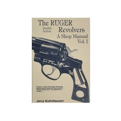 Ruger Double Action Revolvers Shop Manual by Heritage Gun Books