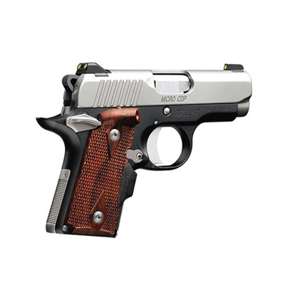 1911 Micro 9 Cdp Lg 9 Mm 3.15in 9mm Stainless/Blue 6+1rd by Kimber Mfg.