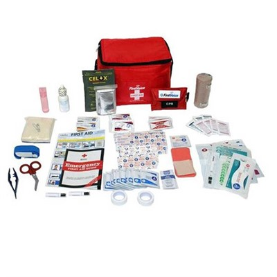 Premium Hiking and Outdoor First Aid Kit by Think Safe Inc