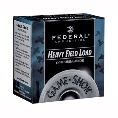 Game-Shok Upland Heavy Field Ammo 28 Gauge 2-3/4 & Quot; 1 Oz 5 Shot by Federal