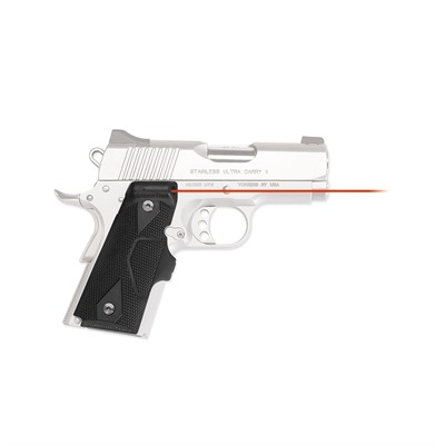 Click here to buy 1911 Compact Front Activation Lasergrips by Crimson Trace Corporation.