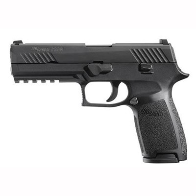 Click here to buy P320 Full Size 9mm 17+1 Black by Sig Sauer.
