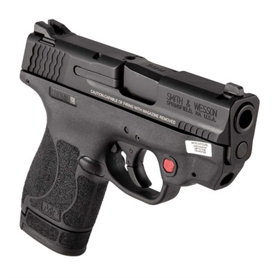 M & P9 Shield 2.0 9mm Safety Ct Red Laser by Smith & Wesson