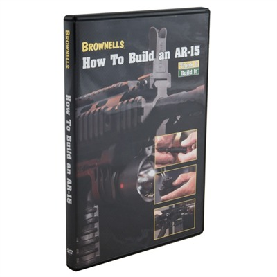 How to Build an AR-15 Dvd by Brownells