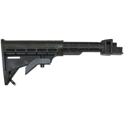 AK-47 T6 Stock for Stamped Receiver Collapsible by Tapco Weapons Accessories