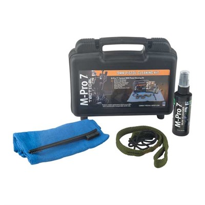 M-Pro 7 Tactical 9mm Pistol Cleaning Kit by Bushnell