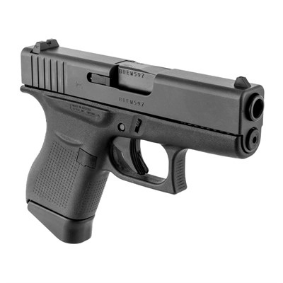 G43 Handgun 9mm w/ 2 6-Round Magazines by Glock