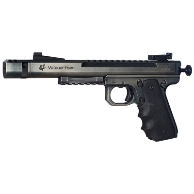 Click here to buy Scorpion, 22lr Battle Worn, 6 & Quot; Upper with 1911 Style Target Frame by Volquartsen.