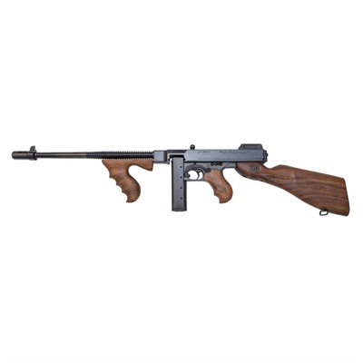Click here to buy 1927a-1 Deluxe w/ Comp 16.5in 45 Acp Blue 30+1rd by Auto Ordnance.