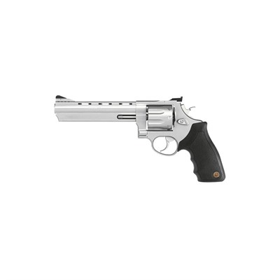 Click here to buy 608 6.5in 357 Magnum | 38 Special Matte Stainless 8rd by Taurus.
