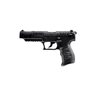 P22 Target Ca 5in 22 Lr Black 10+1rd by Walther Arms Inc