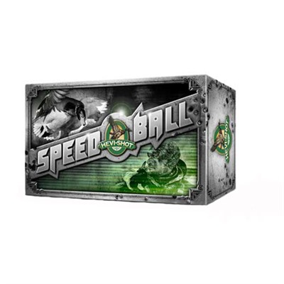 Hevi-Shot Speedball Ammo 12 Gauge 3 & Quot; 1-1/4 Oz 3 Shot by Environ-metal Inc.