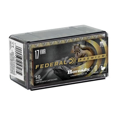 V-Shok Ammo 17 Hmr 17gr V-Max by Federal