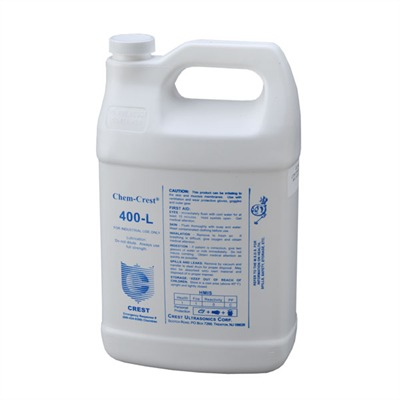 Click here to buy Cc-400l Ultrasonic Lubricant, Gallon by Crest Ultrasonic.