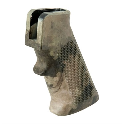Click here to buy AR-15/M16 A2 Blemished Camo Pistol Grips by DPMS.