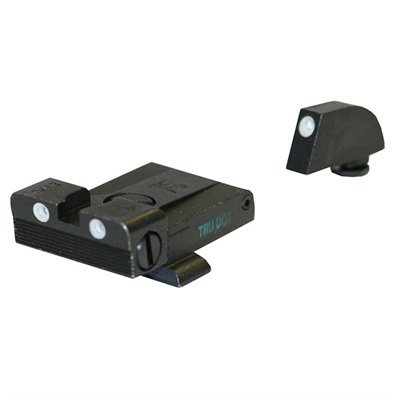 Click here to buy Tru-Dot Adjustable Tritium Night Sight Sets for Glock by Meprolight.