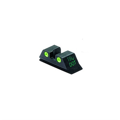 Rear Tru-Dot Night Sights for Glock by Meprolight