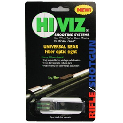 Click here to buy Rifle Muzzleloader Rear Sight by Hiviz.