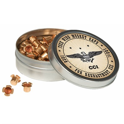 Click here to buy Muzzleloading Percussion Caps by Cci.